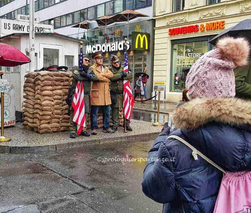 Berlino a gennaio con adolescenti
